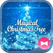 Dreamy Wallpaper Magical Christmas Tree Theme