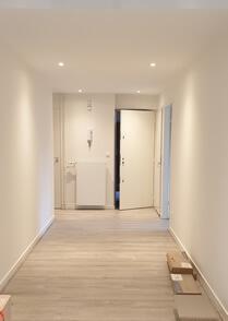 een mooie warm witte tint op deze muren
