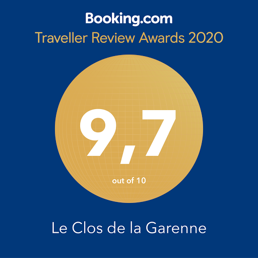 booking traveller review awards 2020 le clos de la garenne