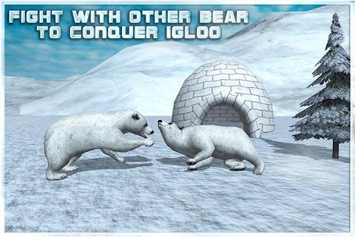 愤怒的北极熊模拟器3D