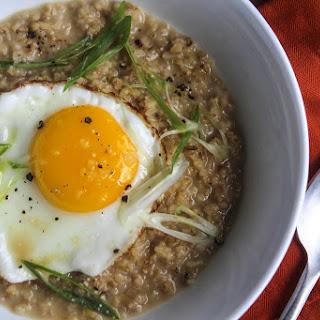 Miso Breakfast Oatmeal.
