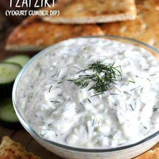 Greek Tzatziki (Yogurt Cucumber Dip) Recipe