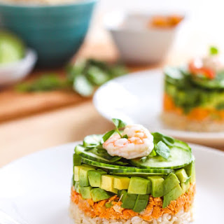 Coconut Red Curry Salmon Towers