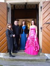 Photo: Hudba s hvězdami Jenovéfa Boková - housle Vanda Kadeřábková Březinová - soprán Barbara Kürstenová – cembalo Pavel Verner - violoncello