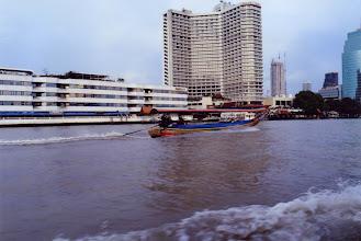 Photo: #024-La rivière Chao Phraya ou Ménam-Bangkok