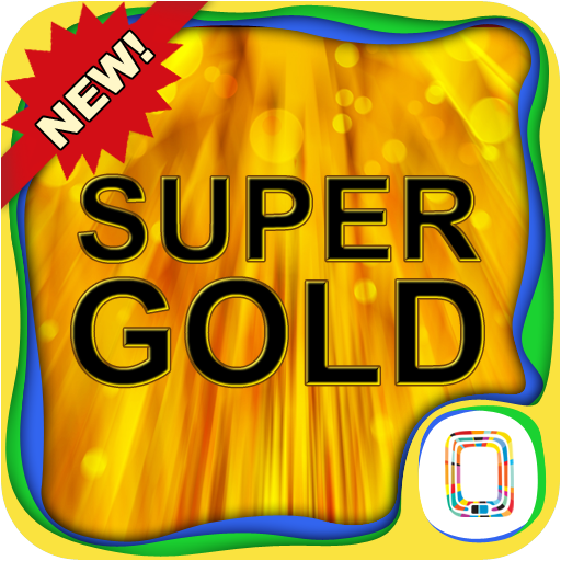 Super Gold keyboard 個人化 LOGO-玩APPs