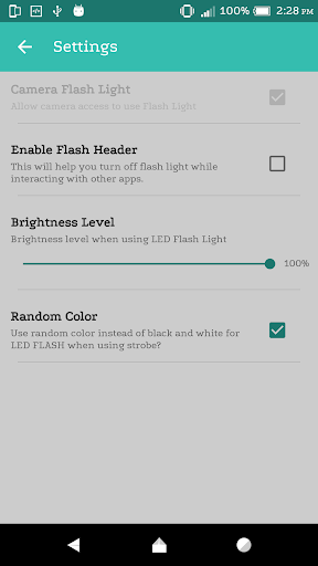 Flashlight: LED Light Free screenshot 2
