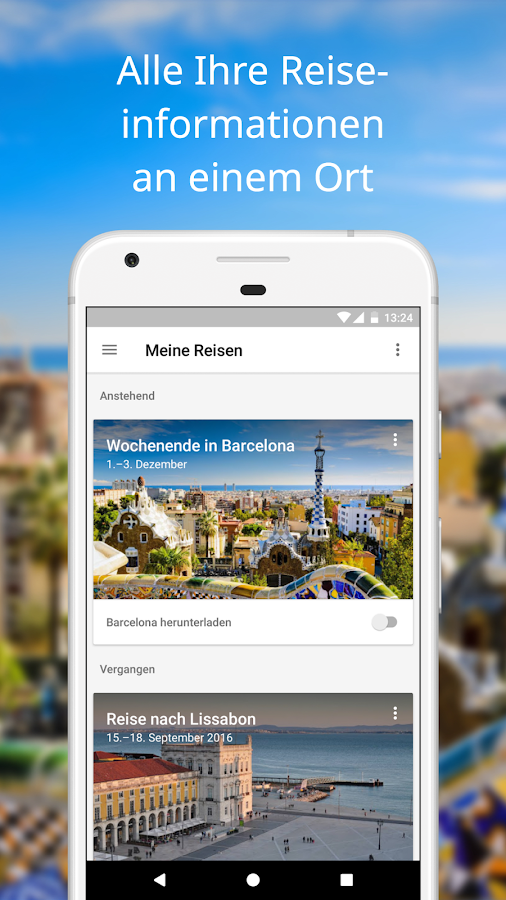 Google Trips – Reiseplaner – Screenshot