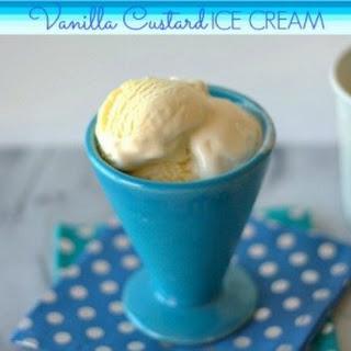 Vanilla Custard Ice Cream.