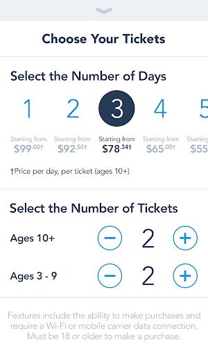 8 Disneyland App screenshot
