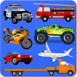 Toddler Vehicles Puzzles Icon