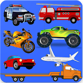 Vehicles Puzzles