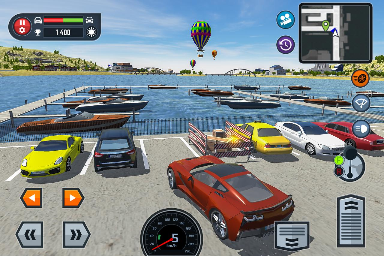 Game For Cars Parking