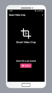 Smart Video Crop - Crop any part of any video Screenshot
