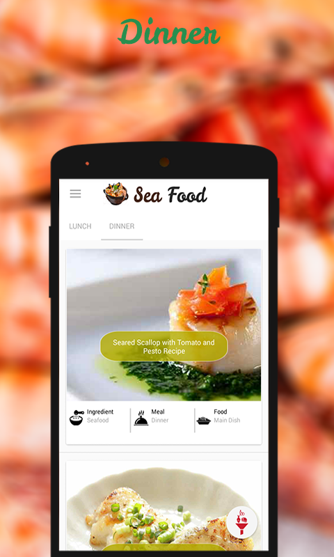 Seafood Recipes- screenshot