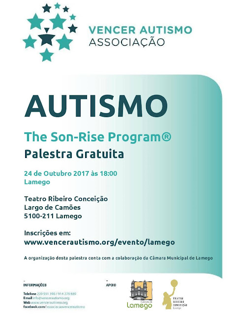 Palestra - Autismo e o The Son-Rise Program® - 24 de outubro de 2017
