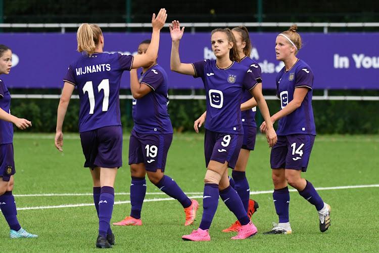 Vrouwen Anderlecht halen uit in Brusselse derby
