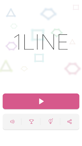 1LINE - one-stroke puzzle game - screenshot