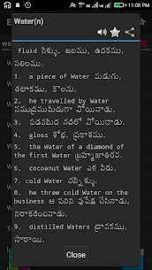 Download English To Telugu Dictionary App for Android 2