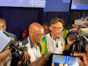 ANC Secretary General Ace Magashule and Pule Mabe