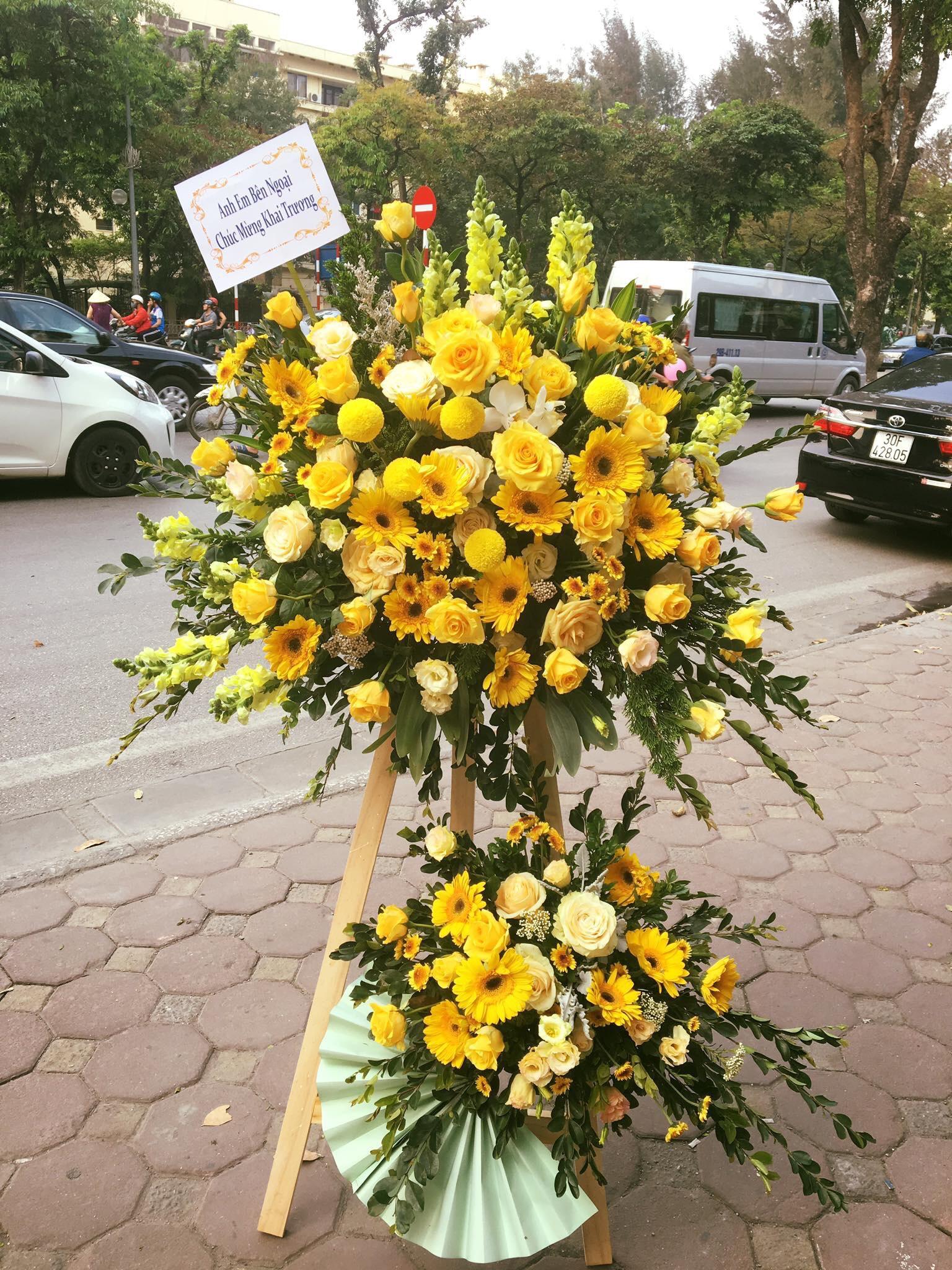 Tặng hoa vào dịp khai trương