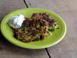 Creamy Zucchini Pancakes Recipe