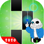 Piano tiles - Megalovania - Sans piano game icon