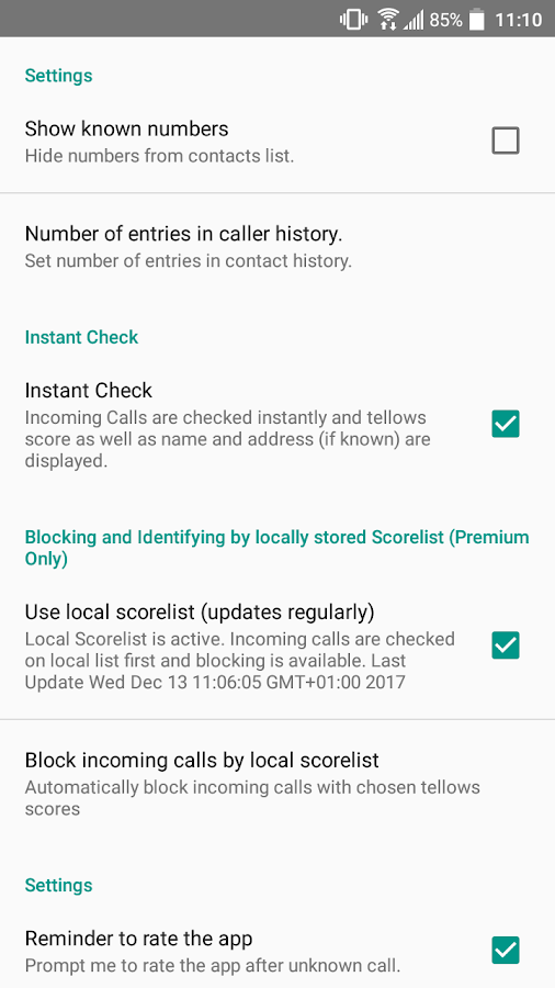 tellows - Know who calls you! Caller ID & Block- screenshot