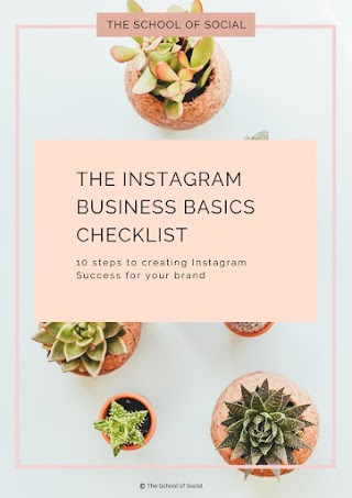 THE INSTAGRAM BUSINESS BASICS CHECKLIST