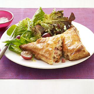 Ham, Turkey, and Cheese Turnover Recipe