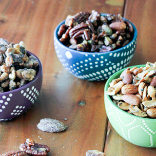 Trio of Mixed Spiced Nuts