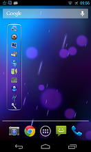 Photo: Vertical toggle widget with shortcuts only