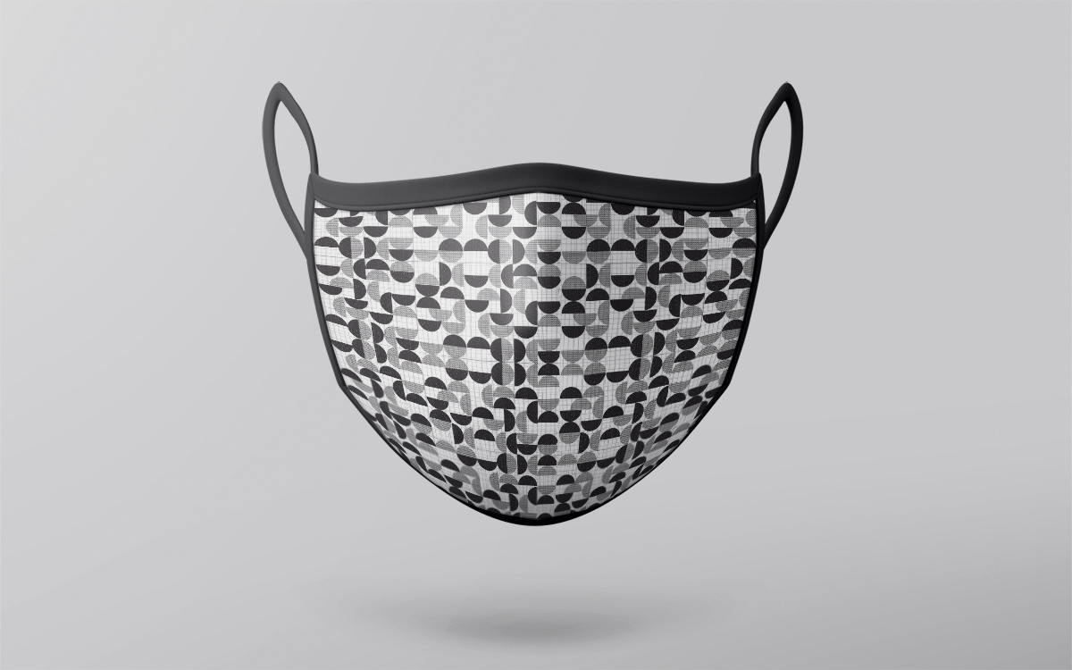 abstract pattern mask design