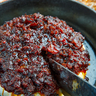 Bacon Jam Baked Brie.
