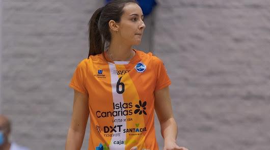 Marta Ruano brilla en la Superliga 2 de Voleibol con Cuesta Piedra Santa Cruz
