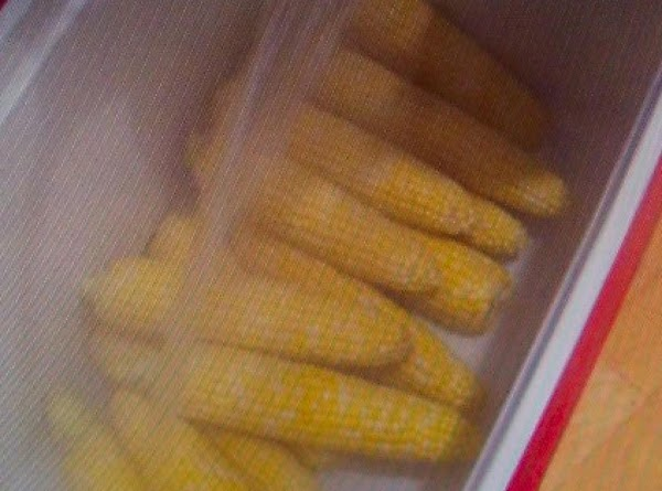Your Cold Cooler  Warm Picnic Cooked  Corn Recipe