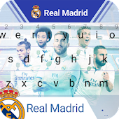 Real Madrid Los Merengues Keyboard Theme