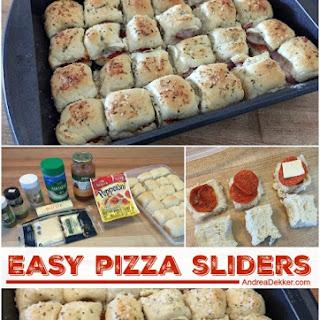 Easy Pizza Sliders