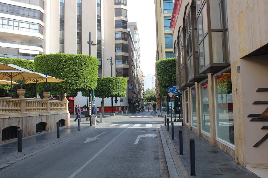 Calle General Tamayo.