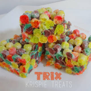 Trix Krispie Treats.
