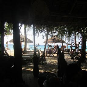 Zanzibar tourist beach by Sandra Mcgowan - Landscapes Beaches ( africa, zanzibar, beach, popular tourist beach, popular area )