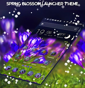 Spring Blossom Launcher Theme - náhled