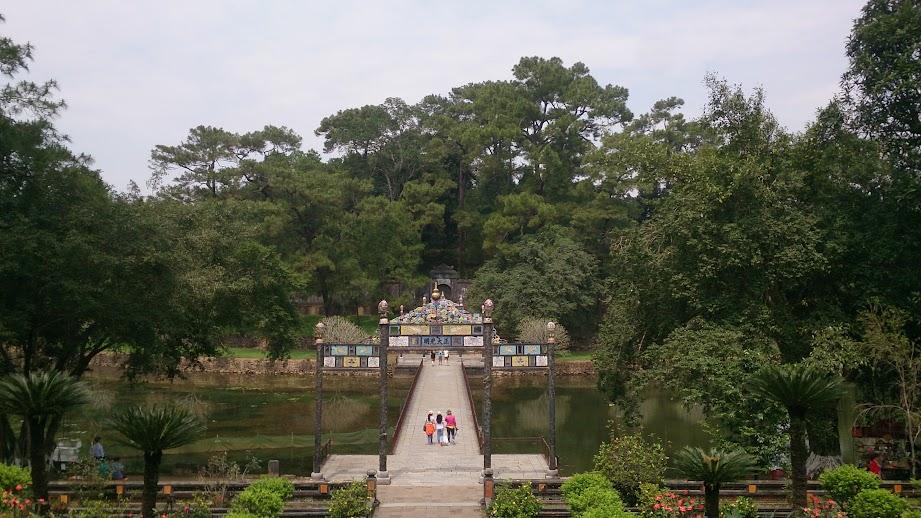 lăng mộ Minh Mạng