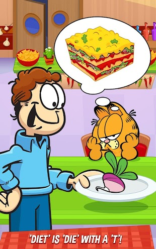Garfield: My BIG FAT Diet- screenshot thumbnail