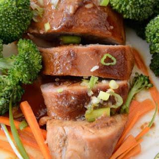 Bourbon Hoisin Pork Tenderloin Recipe