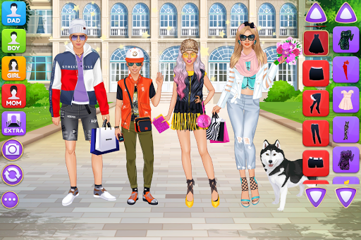 Superstar Family - Celebrity Fashion screenshots 2