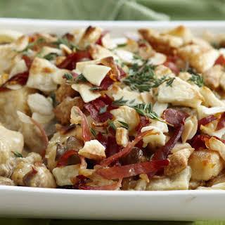 Chicken, Mushroom, and Prosciutto Casserole.
