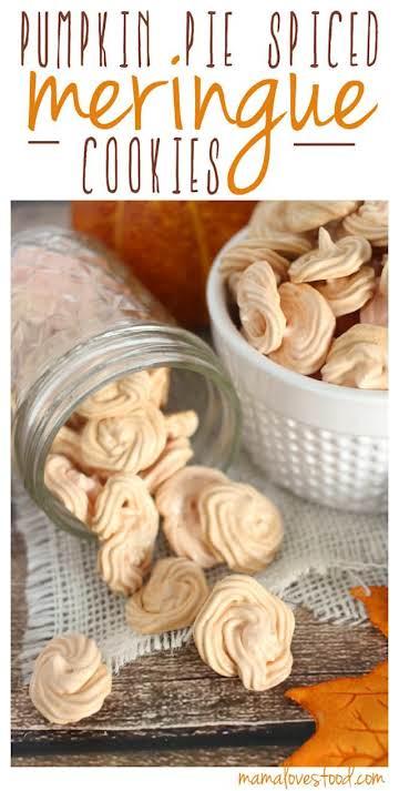 Pumpkin Spice Meringue Cookies and a {{KITCHENAID MIXER GIVEAWAY}}