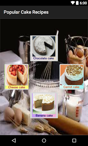 Popular Cake Recipes