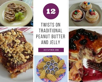 12 Twists On Traditional Pb&j Recipe